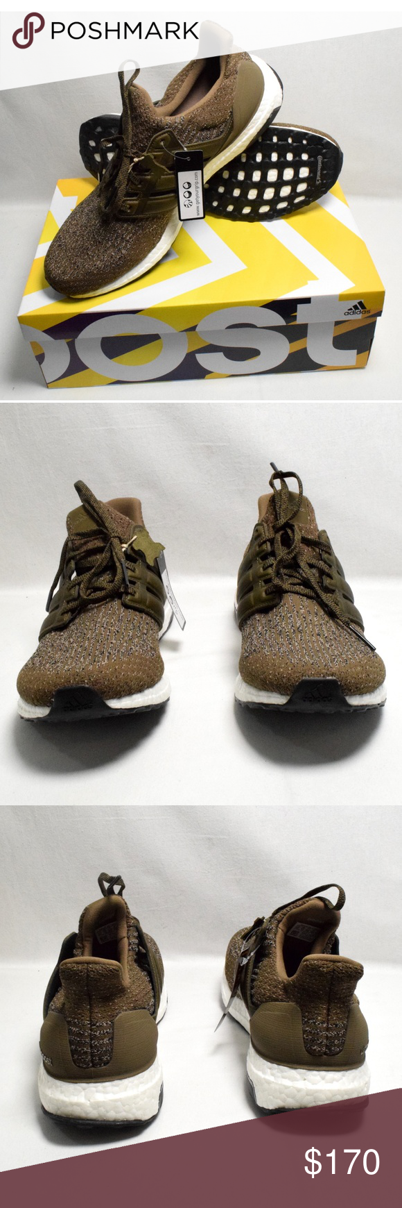 138fe1640 ADIDAS MEN S BOOST ULTRABOOST TRACE OLIVE 11.5 Adidas Ultra Boost 3.0 LTD Trace  Olive Cargo S82018 Mens Size 11.5 Leather Cages. adidas Shoes Sneakers