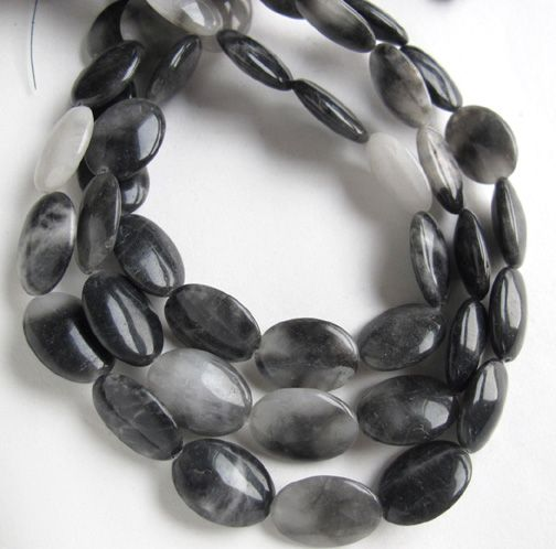 Natural Black Onyx Fine Cut Faceted Long Oval Shape Gemstone Loose Bead Necklace for Jewelry Making and Custom Design AAA Quality 16inch