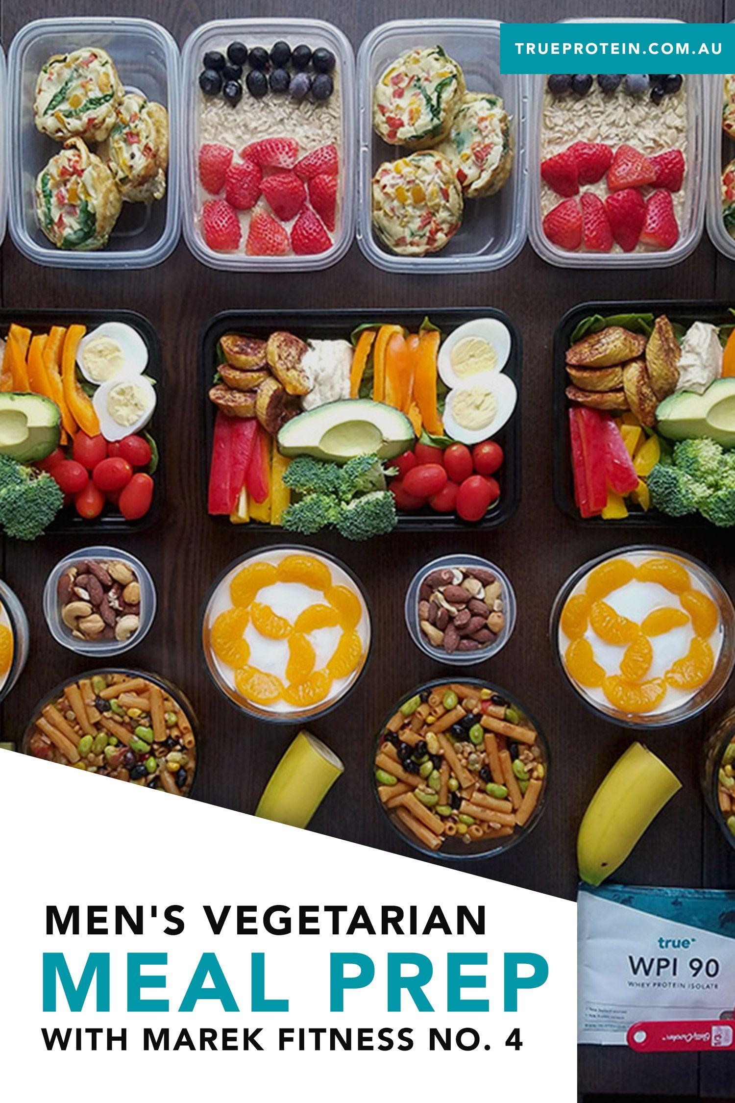 Mens vegetarian meal prep with marek fitness no 4