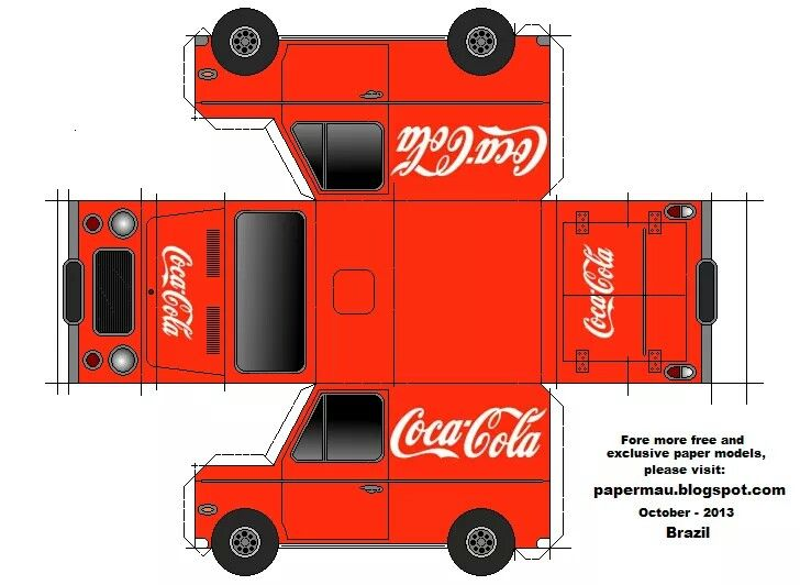 Coca-Cola - # Amazing Pinterest Coca Cola, Cola and Papercraft