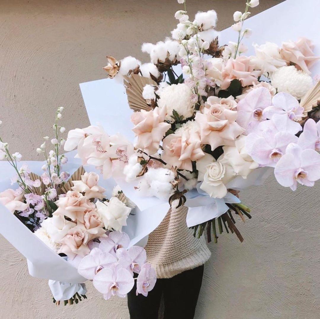 Marquise Atelier On Instagram O B S S E S E D Repost Lovestonedbridal Friday Florals Fairy Floss Flowers With Theflowe Floral Fairy Floss Flowers