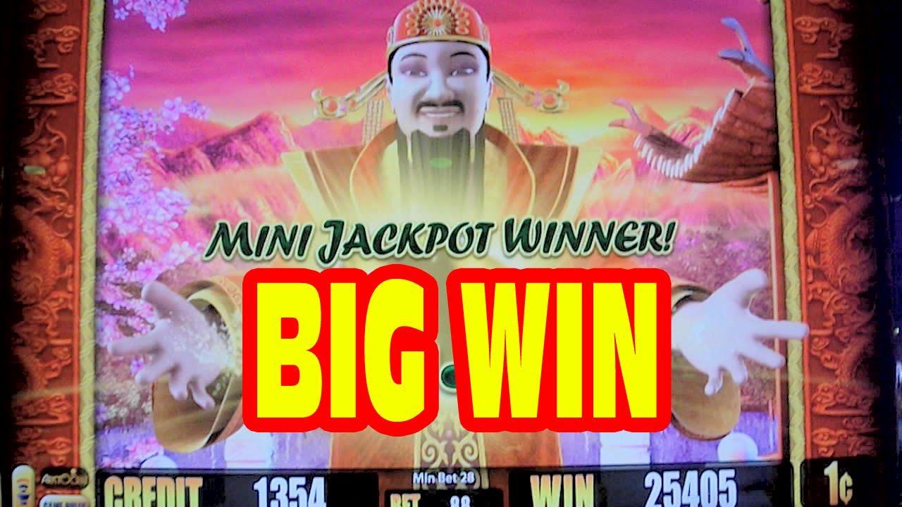 Dragon slot machine big win call poker definition