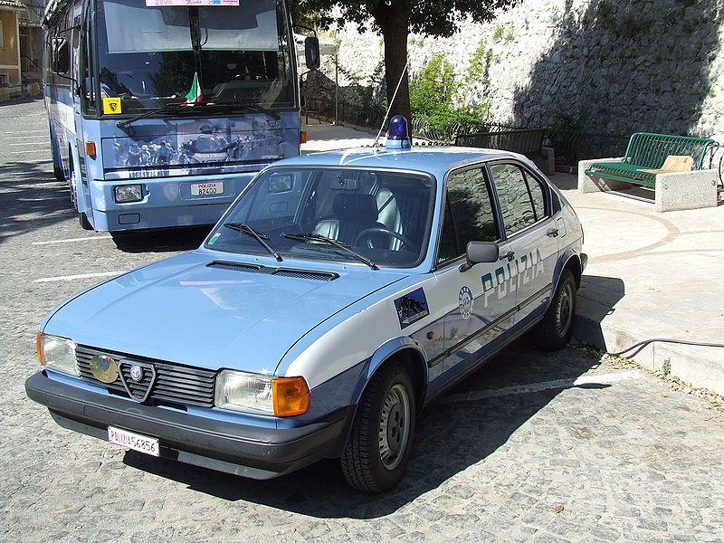 Alfa Romeo Alfasud - Polizia di Stato