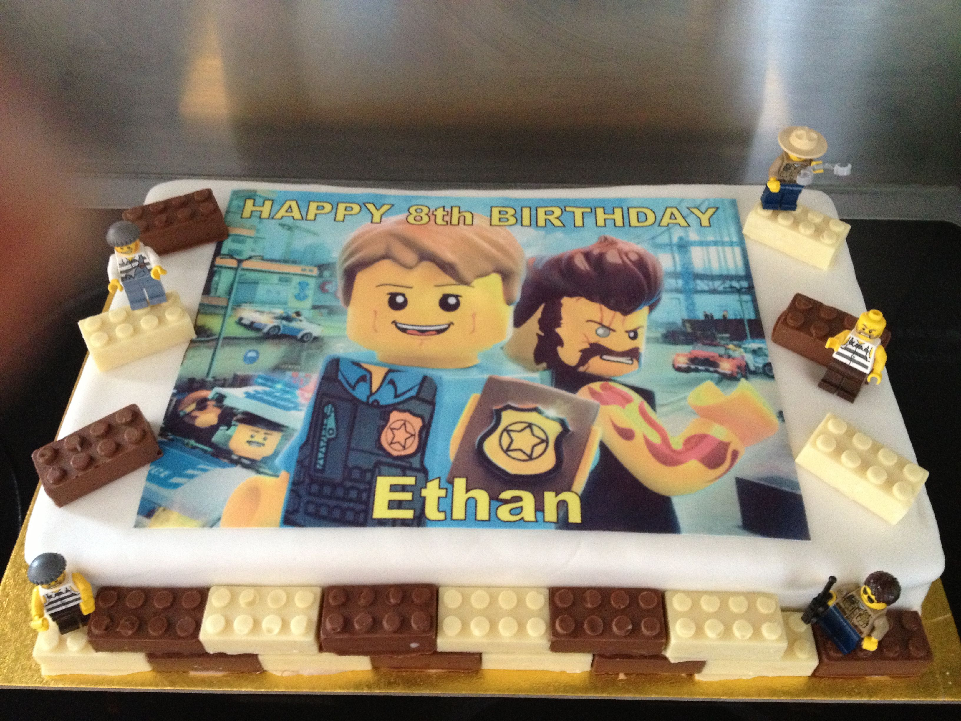 Lego City Cake Lego Cake Birthday With Images Lego Birthday