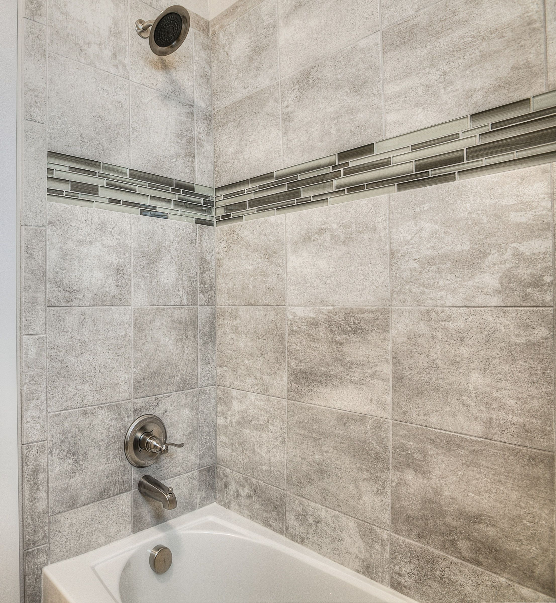 Bathrooms Continent Delta Haze Surround Tile And Fusion