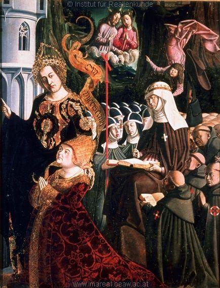 St. Irmgard von Süchteln: Zwei Kruzifixe grüßen sich