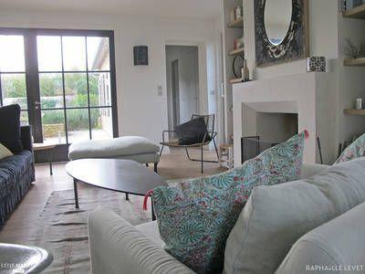 miniature une maison r ile de r rapha lle levet d corateur d 39 int rieur salon home. Black Bedroom Furniture Sets. Home Design Ideas