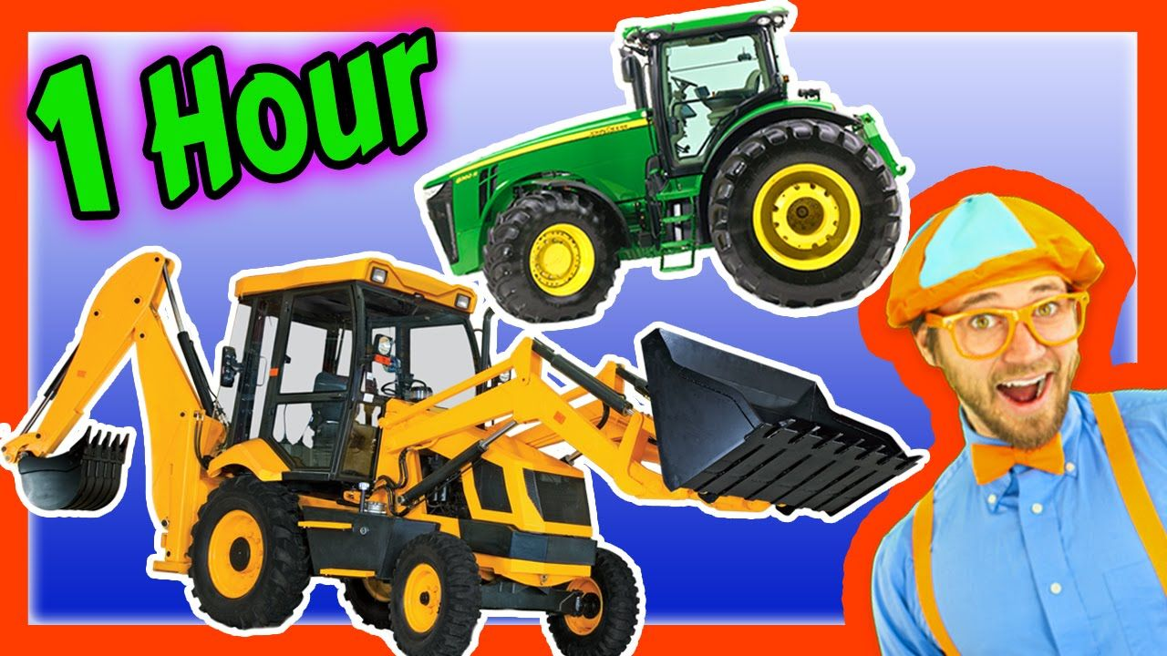 Blippi Colors Song Nursery Rhymes Learn To Count For