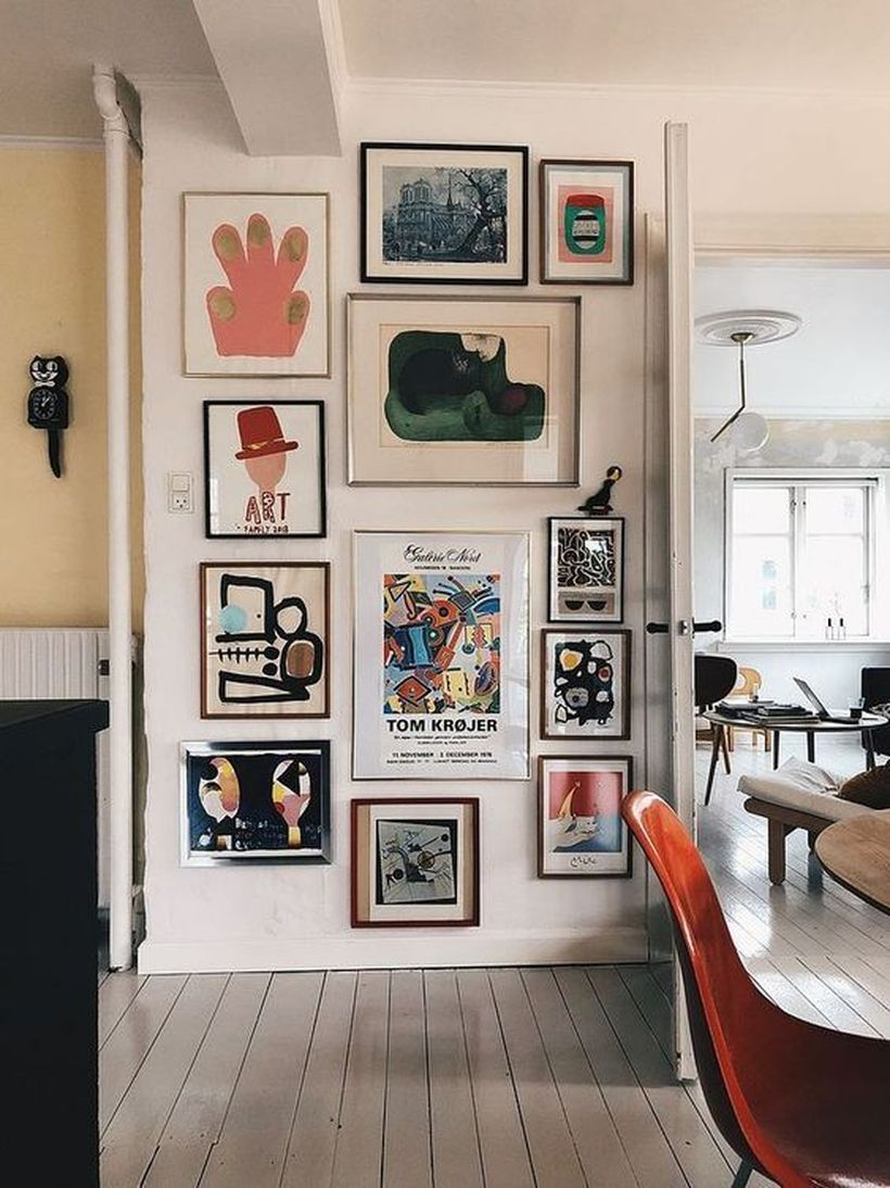 42 Luxury Wall Gallery Ideas For Perfect Wall Decor Gallery Wall