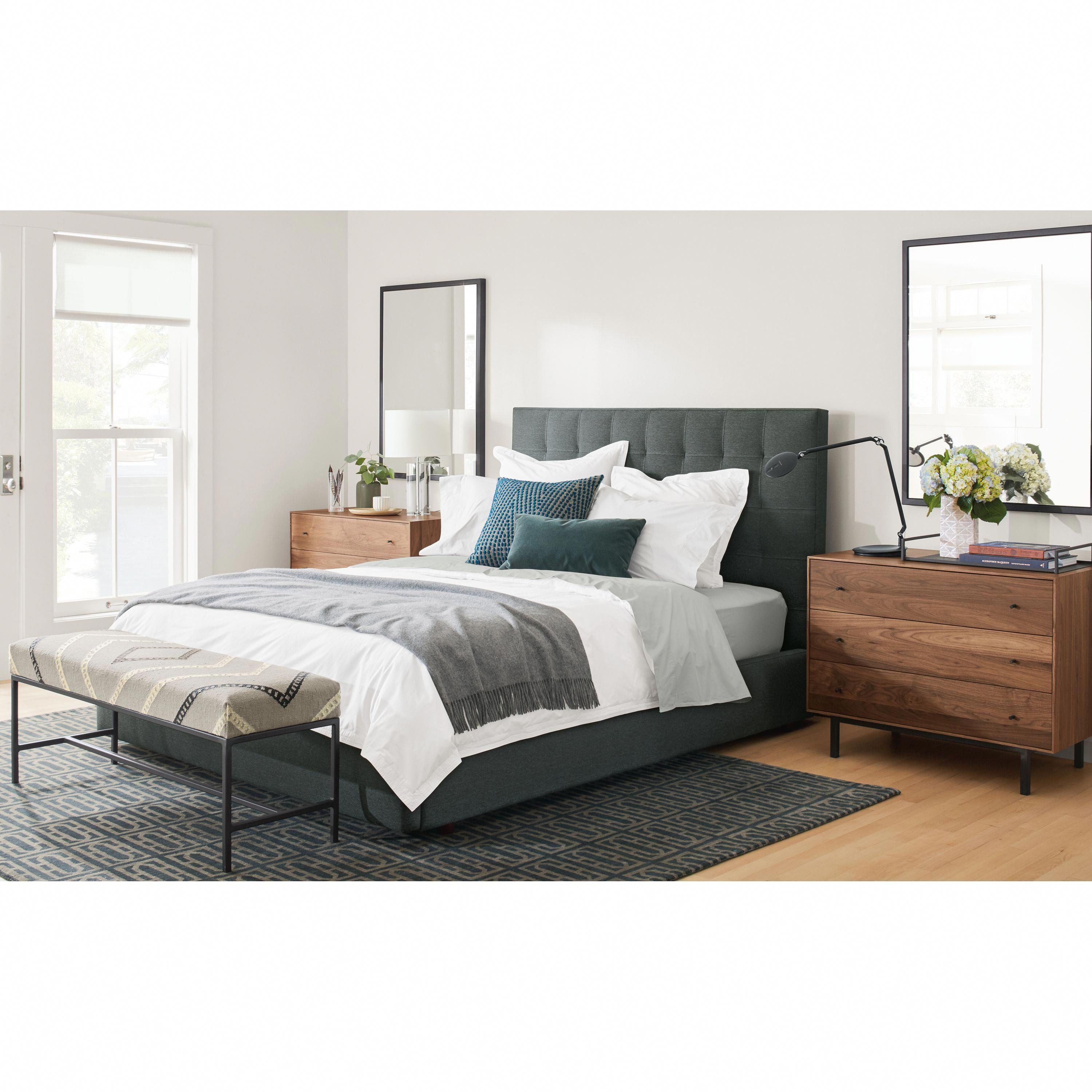 Avery Upholstered Bed - Modern & Contemporary Beds ...