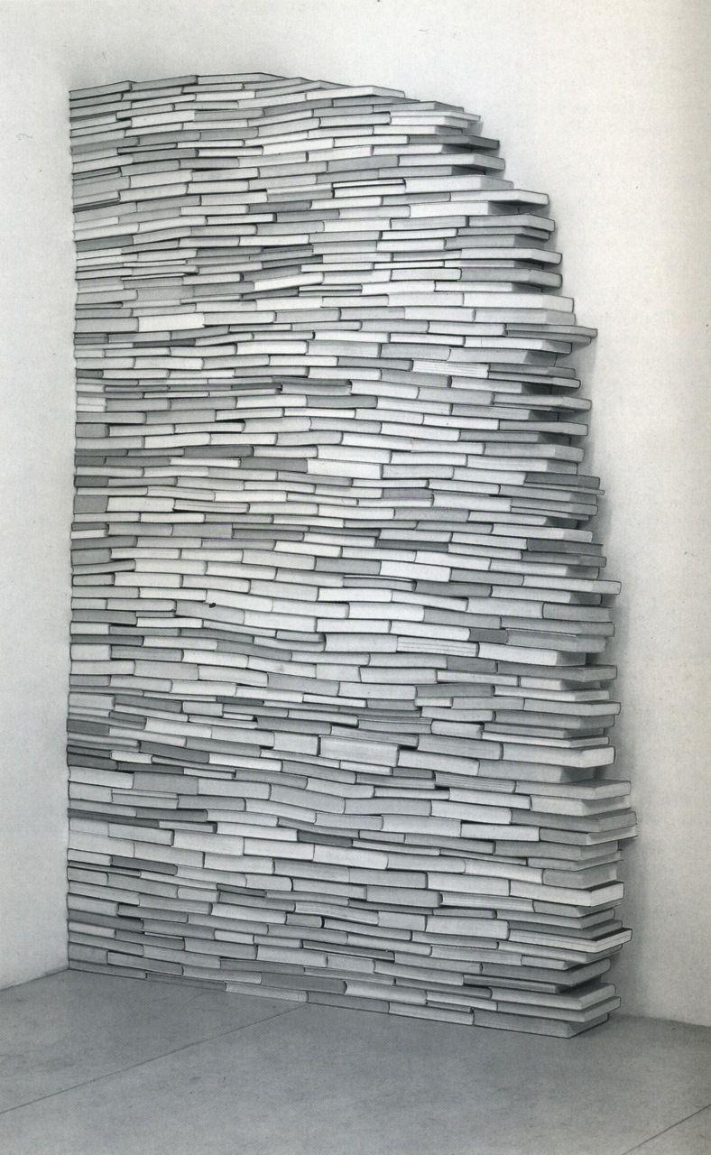 Book Art Sculpture by Peter Wüthrich