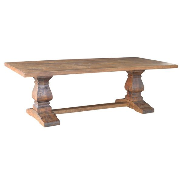 """Deals On Dining Tables: 42x92"""" $2600 Castle Dining Table"""