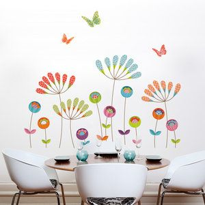 Home Improvement With Images Wall Decals Flower Wall Decals