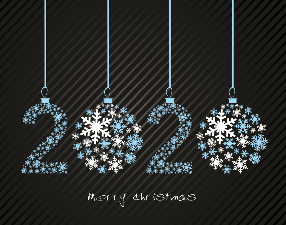 Merry Christmas 2020 Gif Happy new Year Wishes 2020, Happy New Year Cards, 2020 new Year