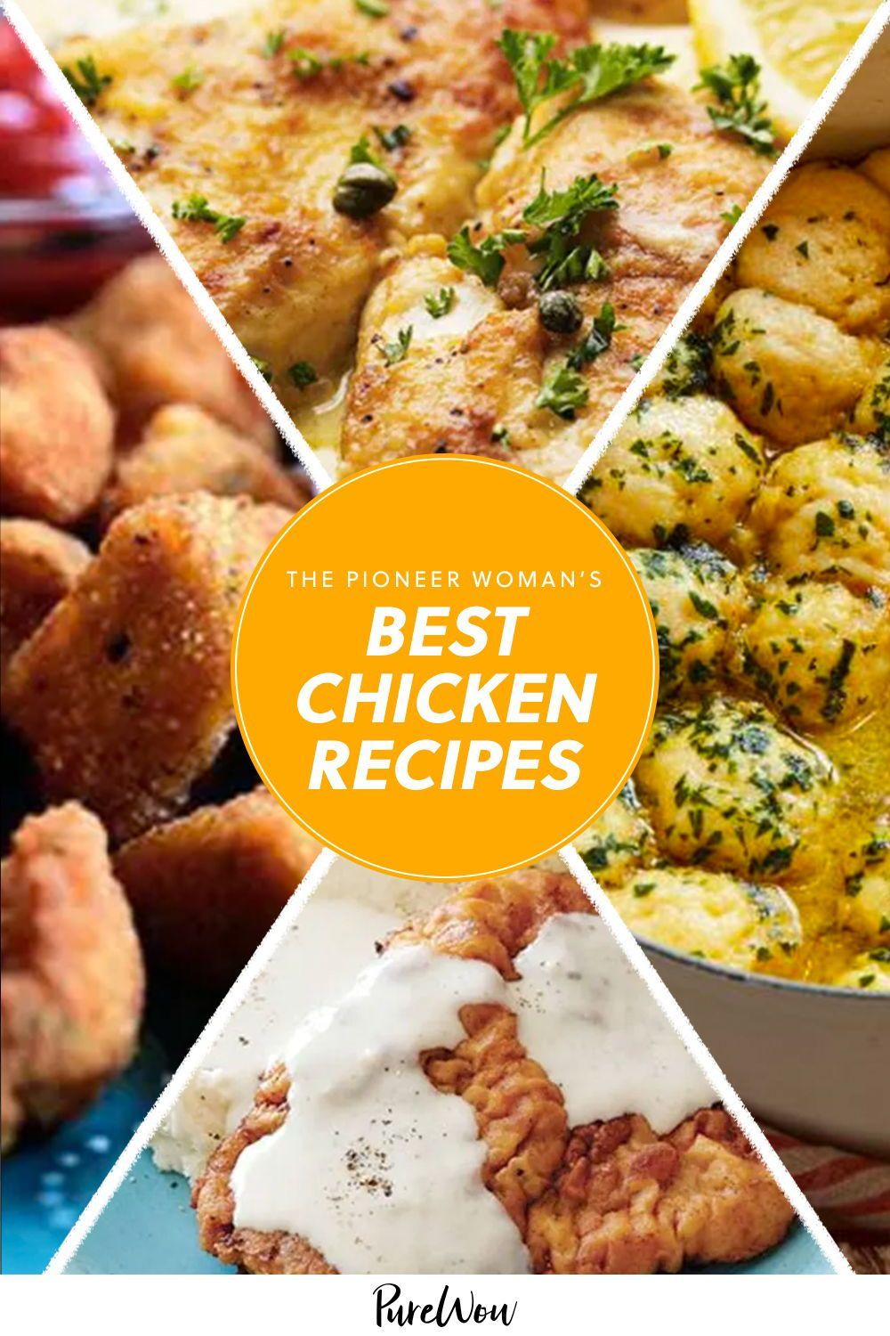 The Pioneer Woman S Best Chicken Recipes Chicken Recipes Recipes Best Chicken Recipes