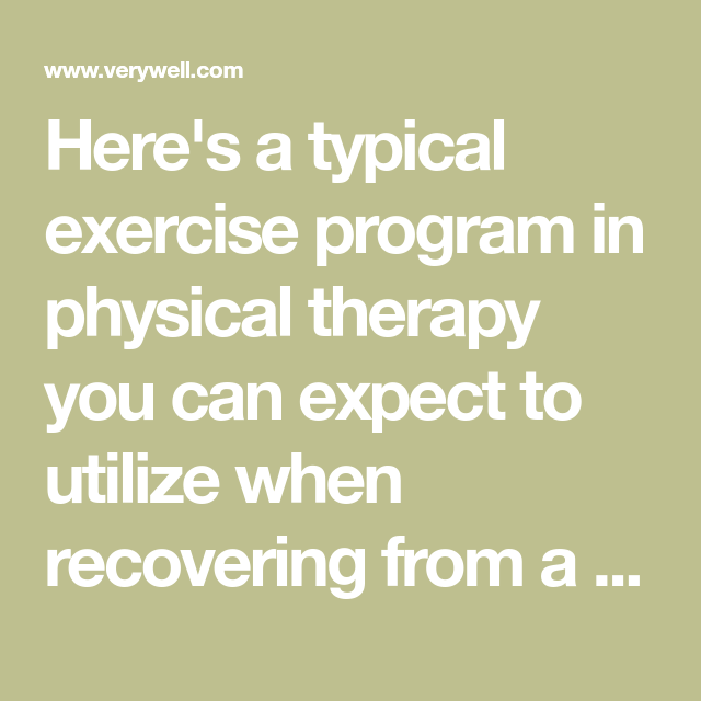 Exercise Program After Lumbar Laminectomy and Discectomy Surgery ...