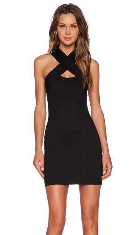 Motel Devora Dress in Black