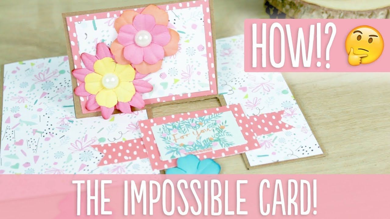 How To Make An Impossible Card! Quick and Cool Card Tutorial