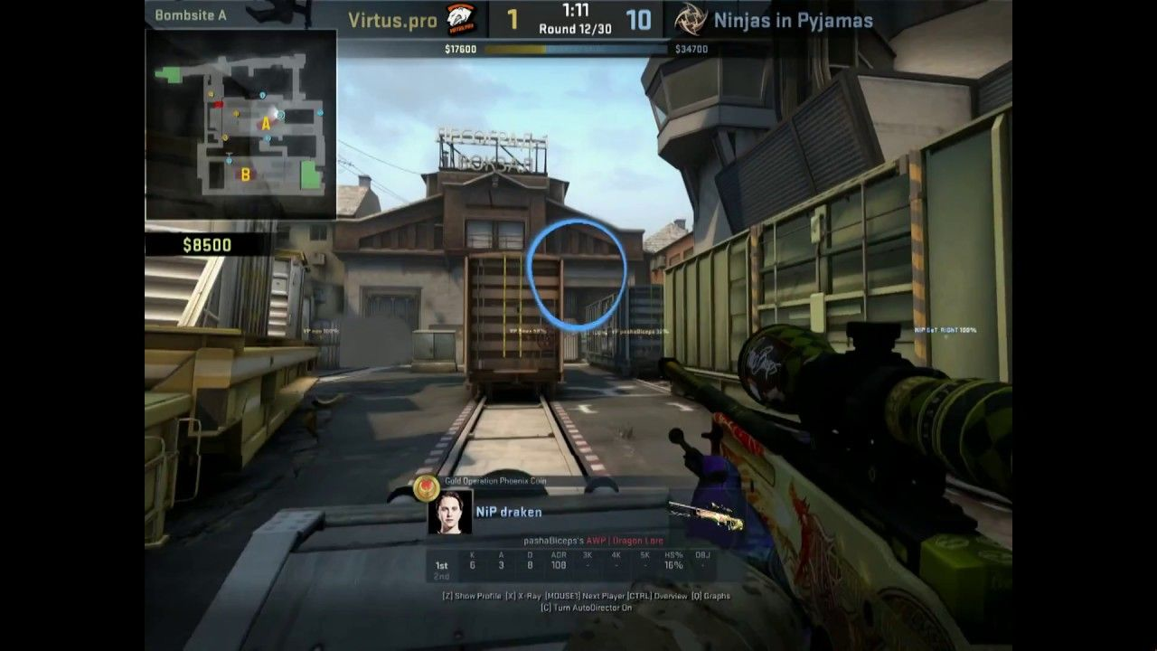 Draken eye tracking explains it all now games globaloffensive