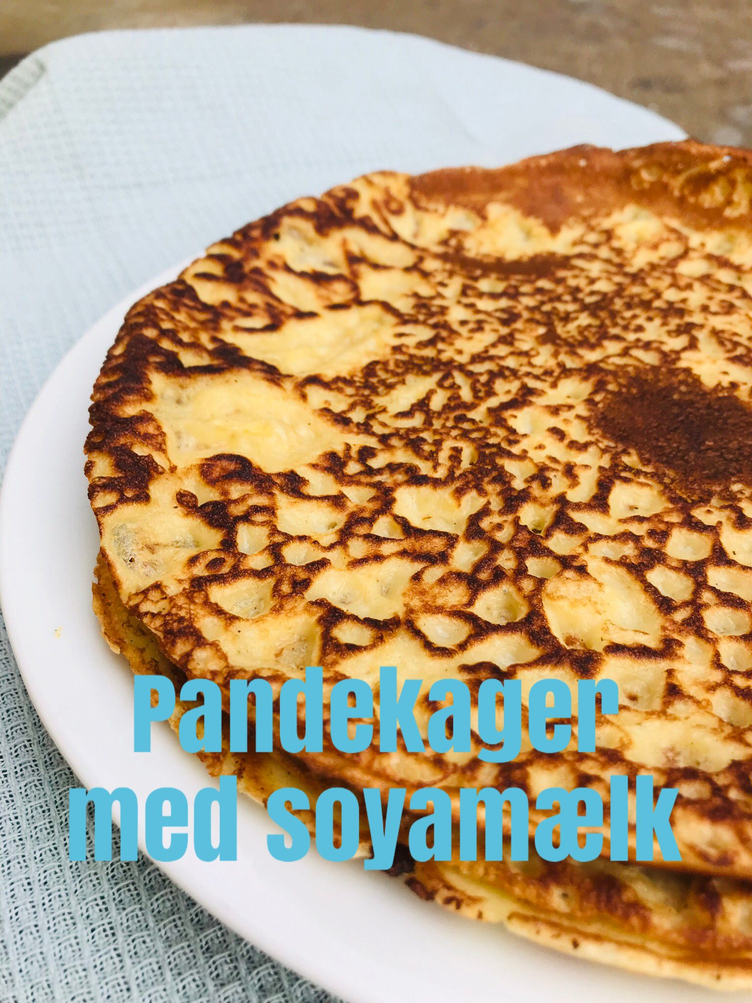 Pandekager Med Soyamælk Opskrift Benedictesmaddk Banana Bread