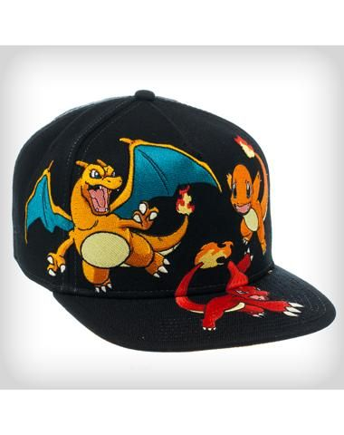 fc7ec3478bbd2 Pokemon All Characters Snapback Hat