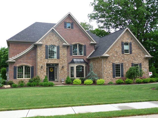 home exteriors brick siding brick and stone house entrance exterior. Black Bedroom Furniture Sets. Home Design Ideas