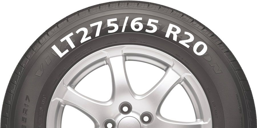 Lt275 65 R20 Tire Example In 2020 Tyre Size Tire 16 Inch Wheels