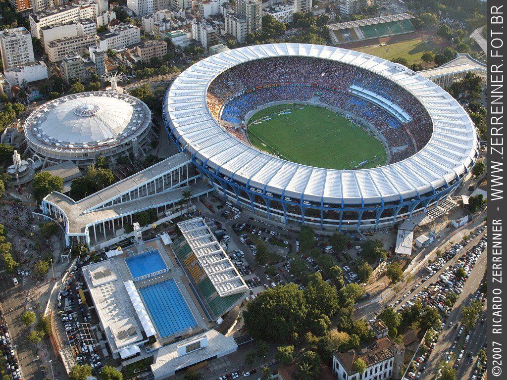 Maracanã before World Cup