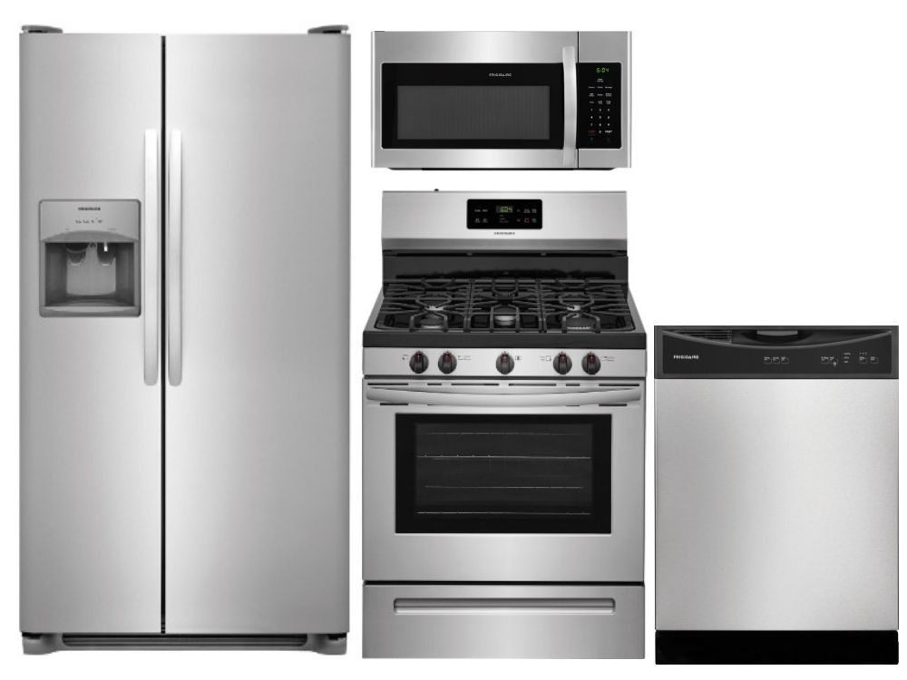 Apartment Package S2 Samsung Appliance Package 4 Piece Appliance Package With Gas Range Kitchen Appliance Packages Appliance Packages Kitchen Appliances