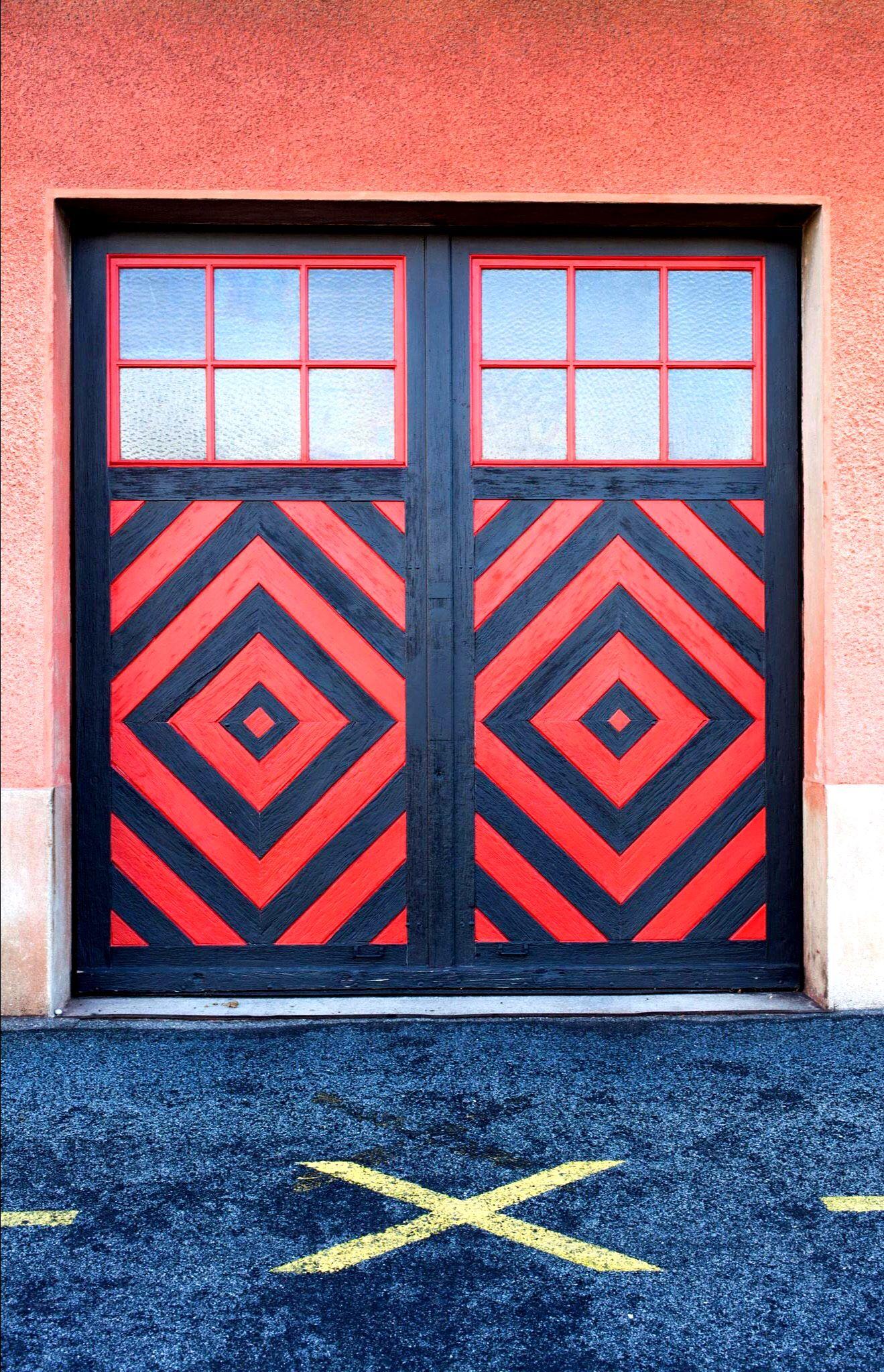 Langenthal bern switzerland street art doors and other