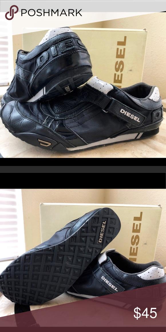 Diesel black sneakers | Black sneakers