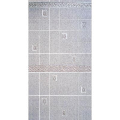 Aquatile 1 8 In X 4 Ft X 8 Ft Alicante Tile Board 709109 At The Home Depot Tile Bathroom Tile Board Dining Room Walls