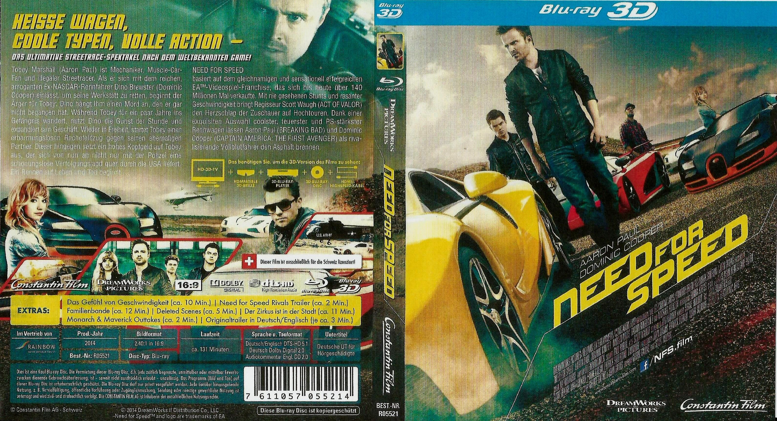 need for speed 3d film