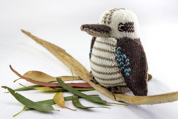 Knitted Kookaburra! #knit #knitting #artofknitting #australia ...