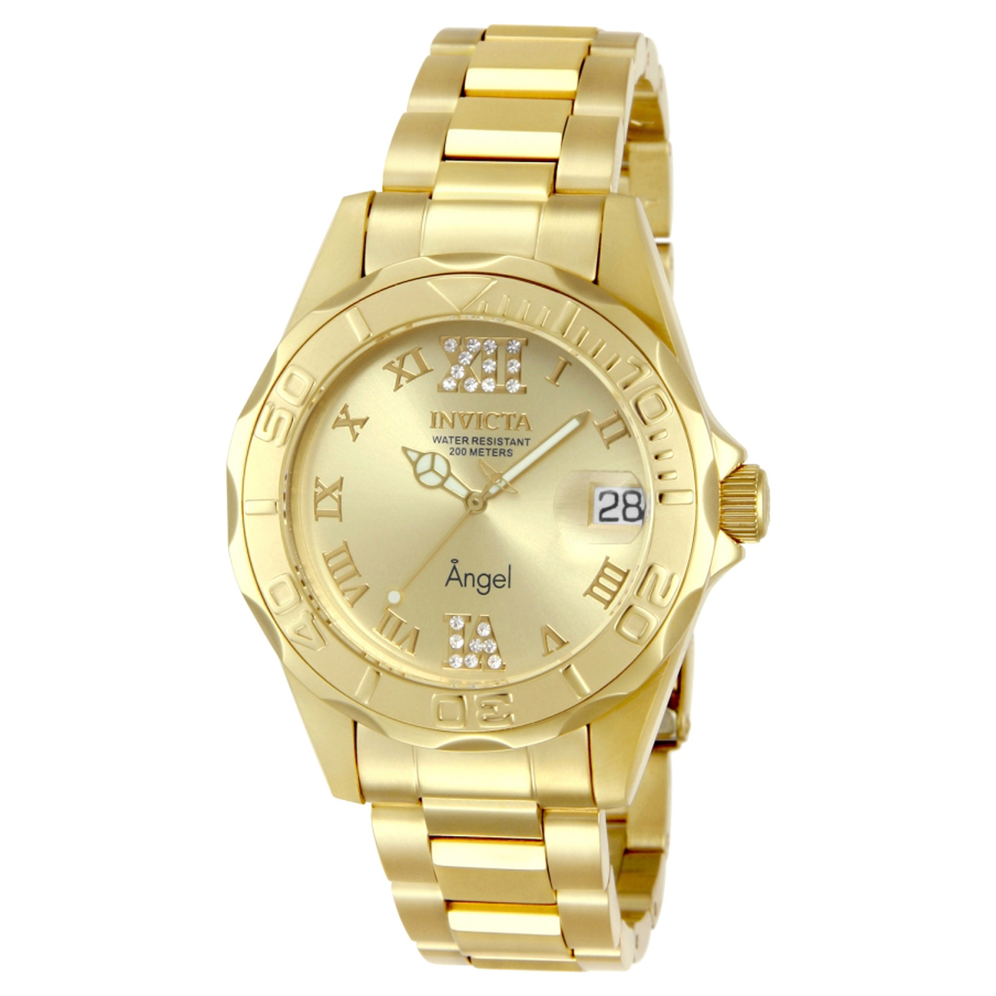 tone stainless yang gold watch hand product neely steel three s
