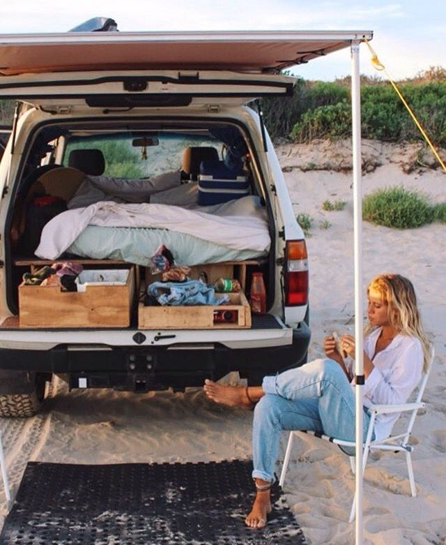 Http Instagram Com Ameliababidge Truck Bed Camping Pickup Camping Camper Awnings