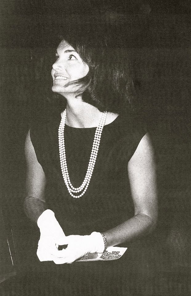 Jackie o style black dress pictures