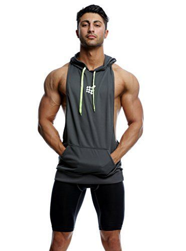 f0119c794e Bodybuilding Stringer Hoodie Gym Tank Top Racerback Hoodi... https   www
