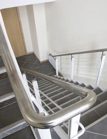 Best Stainless Steel Handrail To Mild Steel Balustrade 640 x 480