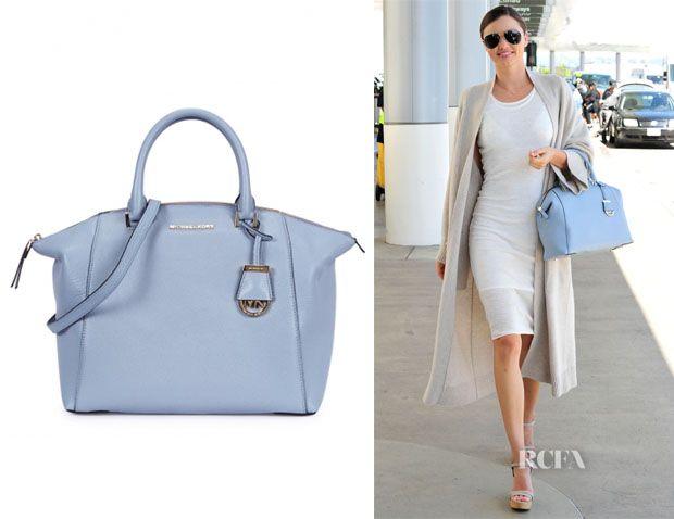 Miranda Kerr's MICHAEL Michael Kors 'Riley' Satchel Bag | Street ...