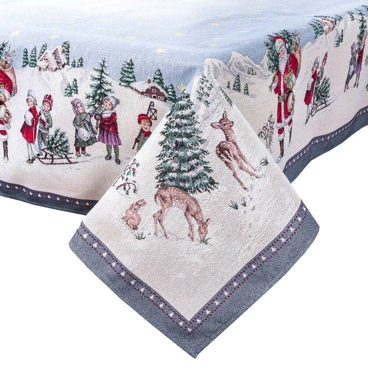 #placemats #xmasdecorations #xmas #Tablecloth #Place Mat Table #tabledecor axPrint #SilverLurex #TableDecor