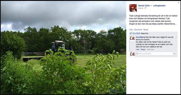 4. Är det verkligen en traktor? Svårt att se...