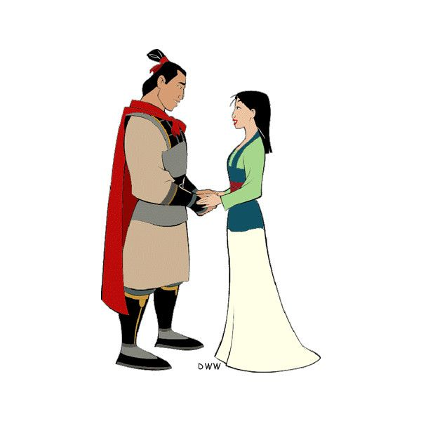 mulan and shang clip art liked on polyvore featuring home home rh pinterest co uk mulan clipart yola mushu mulan clipart