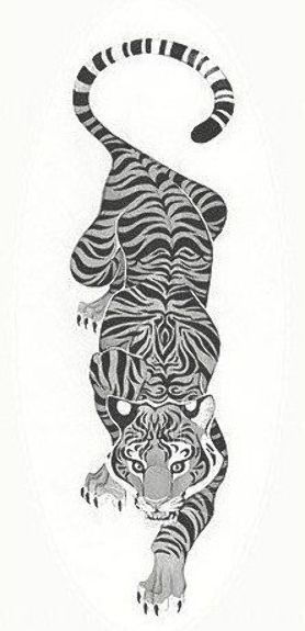 Tattoosymbolism Tattoos Black And White Crawling Tiger Tattoo More Click For More Info Tiger Tattoo Design Tiger Tattoo Small Japanese Tiger Tattoo