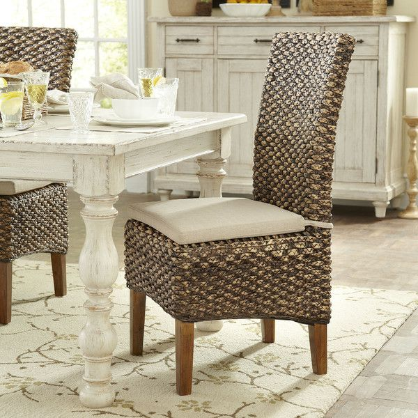 Incredibly Durable And Rich In Tonal Variation These Unique Dining Chairs Carry A Coastal Influence With Their Hardwood Frames Seagrass Woven Seats