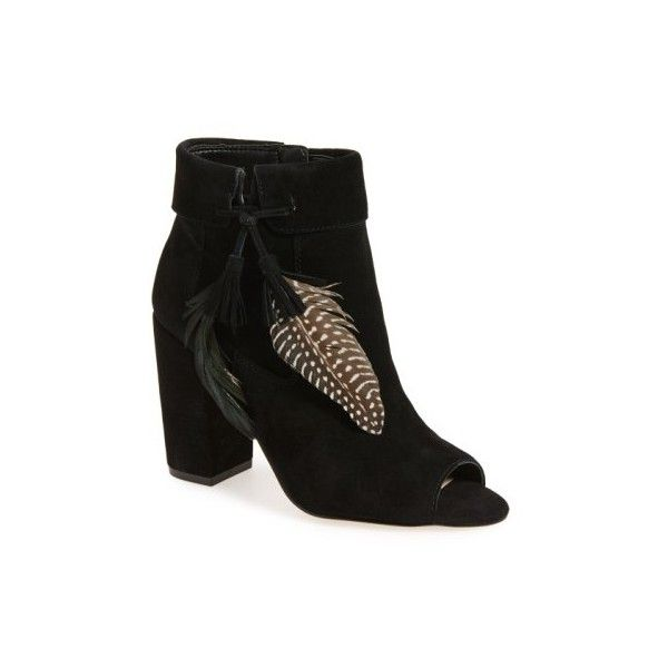 Jessica Simpson Feather Suede Heels si7PTN