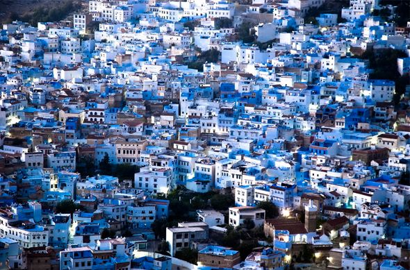 Chefchaouen, the Blue City, Morocco