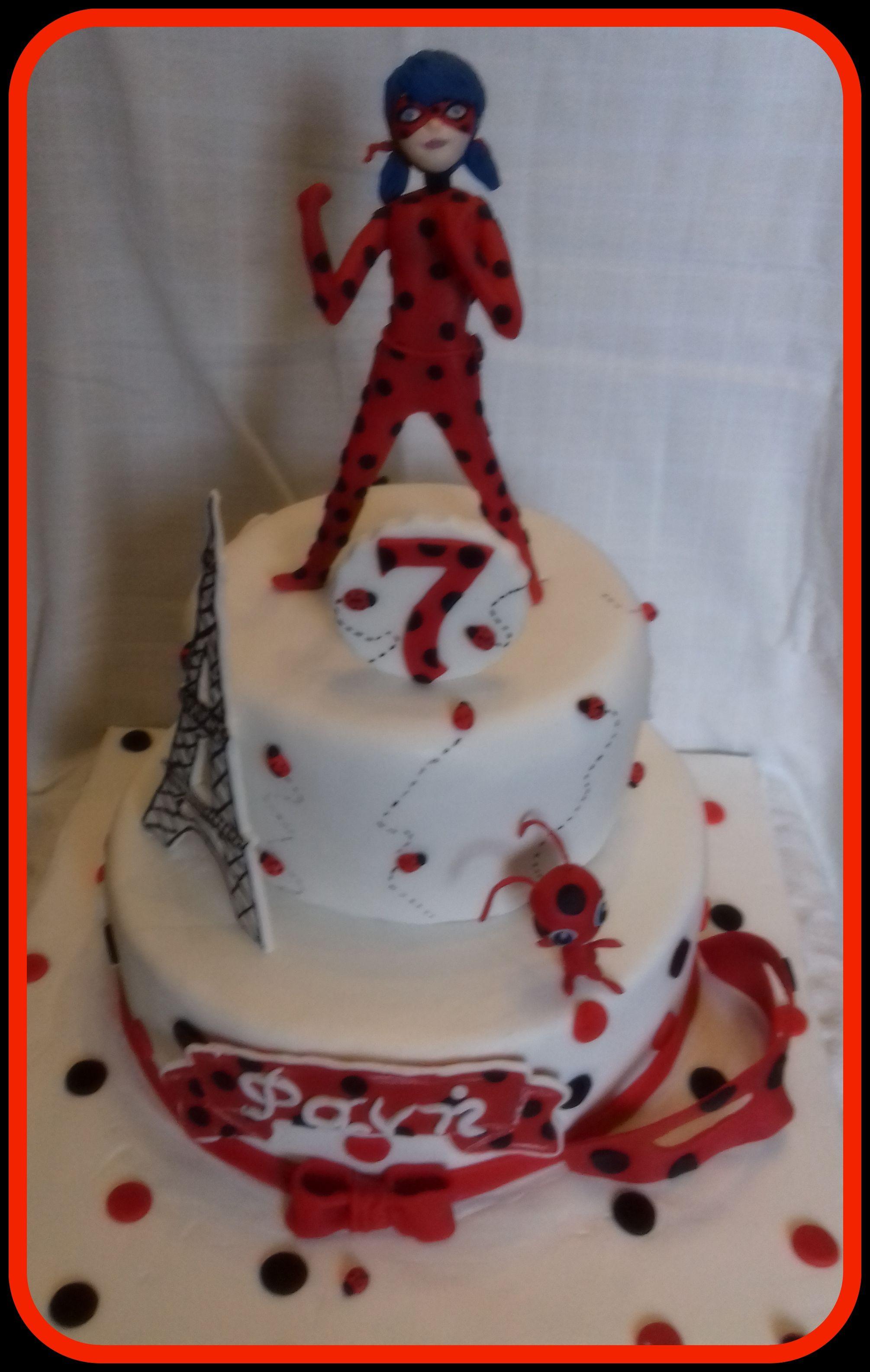 Miraculous Ladybug Birthday Cake Miraculous