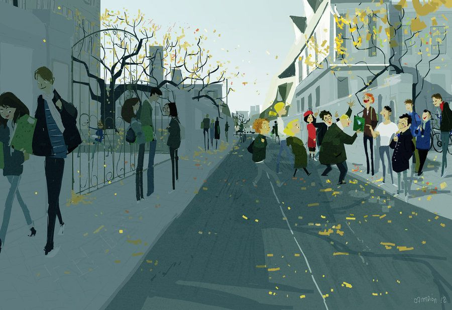 1, rue de l'Academie, Strasbourg, France, 1999. by ~PascalCampion on deviantART