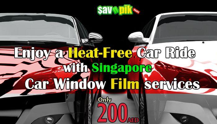 Enjoy a heat free car ride Car Window Tinting